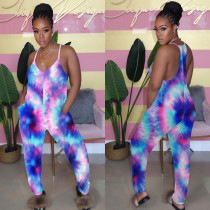 Sexy Colorful Suspenders Jumpsuit YH-HY5137