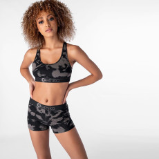 Refreshing Vitality Print Fitness Sports Two Piece Set OD-8400