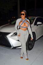 Fashion Casual Long Sleeve Zipper Top Folds Pants Suits WZ-8283
