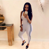 Sexy Sleeveless Fitnees Skinny One Piece Jumpsuits ABF-4015