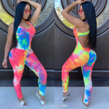 Gradient Sleeveless Backless Sexy Jumpsuits LSD-8755