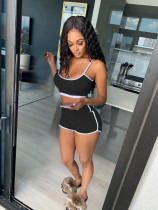 Sexy Cami Top And Shorts Two Piece Sets BS-1215