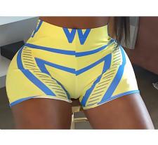 Sexy Printed Bodycon Mini Shorts BLI-2125