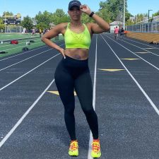 Plus Size Tight Yoga Fitness Running Sports Pants YNB-7119