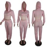 Plus Size Hoodies Pants Two Piece Sets BLI-2137
