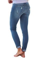 Casual Denim Ripped Hole Skinny Jeans OD-8388