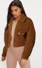 Winter Warm Soft Plush Teddy Jacket Coat NK-8579