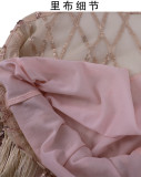 Sexy Sequin Tassel Mini Party Dress CYA-8033