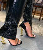 Sexy Bright Leather Split Skinny Pants LSD-9006
