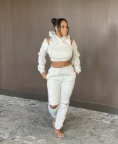 Casual Hoodies Pants Two Piece Suits AIL-134