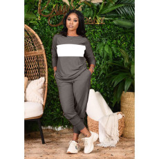 Casual Long Sleeve Two Piece Pants Set OLF-579
