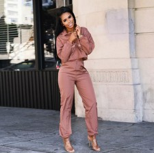 Casual Tracksuit Solid Two Piece Pant Sets ORY-5054