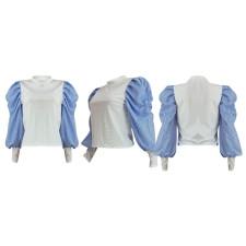 Fashion Casual Lantern Sleeve Top YD-8317