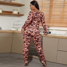 Plus Size 5XL Camouflage Print Jumpsuits OSIF-20879-1
