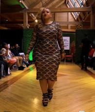Plus Size 5XL Shiny Sequins Long Sleeve Club Dress CYA-1329