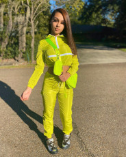 Casual Tracksuits Long Sleeve Two Piece Sets YH-5197