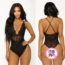 Sexy Lace Backless Teddies Bodysuits Lingerie YQ-W326