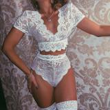 Women Lace Sexy Lingerie Nightwear Sets YQ-W418