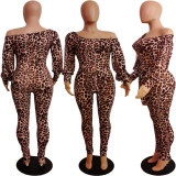 Leopard Print Fashion Jumpsuit APLF-1018