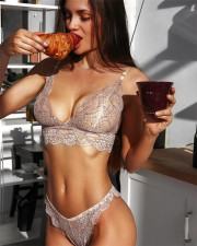 Sexy See Through Underwear Bralette Lingerie Sets YQ-S170