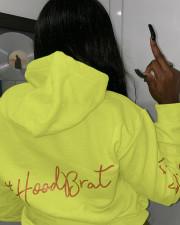 Casual Printed Full Sleeve Hoodie Tops YIS-524