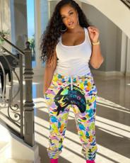 Casual Printed Long Pants MK-3041
