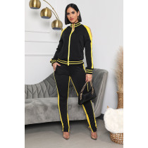Casual Tracksuit Off Shoulder Two Piece Sets IV-8154