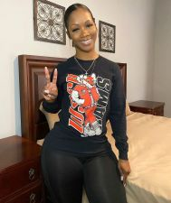 Casual Printed O Neck Long Sleeve T-Shirt Tops BLI-2229