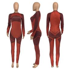 Fashion Casual Yoga Sports Fitness Jumpsuit GLF-8063