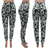 Fashion Street Camouflage Print Casual Pants KYF-3050