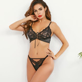 Sexy Lace Bra G-String Lingerie Sets MDNF-10783