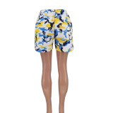 Camo Print Casual Shorts AYF-LX2105