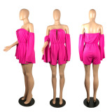 Sexy Off Shoulder Long Sleeve Romper WSM-2021