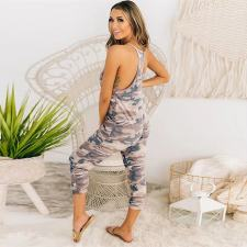 Sling Casual Fashion Camouflage Jumpsuit TMF-8030
