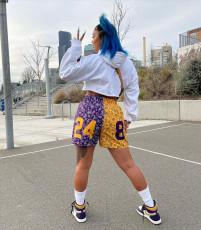 Casual Sports Printed Shorts WZ-8388