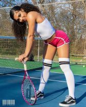 Sexy Sports Cami Top And Shorts 2 Piece Suits MNAF-8105
