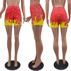 Fashion Casual Print Shorts NYZF-6011