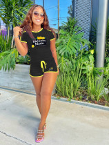 Casual Sports T Shirt And Shorts 2 Piece Sets XMF-067