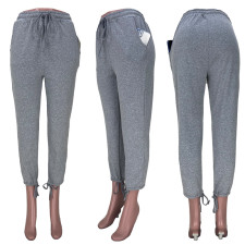Casual Solid Long Pants MDF-5250