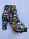 High Heel Fish Mouth Platform Boots MYAF-9080