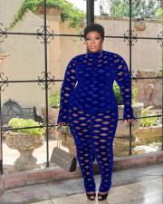 Plus Size Fashion Casual Jumpsuit WAF-77229