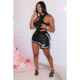 Sexy Print Irregular Skirt ASL-6398