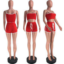 Casual Sports Camisole And Shorts 2 Piece Sets DFNA-5202