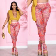 Sexy Printed High Waist Tight Pantyhose Leggings Pants SHD-9518