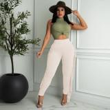 Fashion Casual Tassel Pants MTY-6568