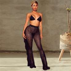 Sexy Lace Ruffle Long Pants GEYF-68510