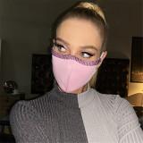 Shiny Rhinestone Face Decor Mask SKQS-1319
