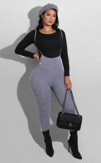 Sexy Slim Print Jumpsuit Two Piece Sets FSXF-236