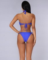 Mesh Halter Push Up Bikini QM-0204