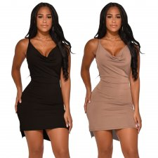 Sexy Strappy Backless Mini Party Club Dresses SHE-7134